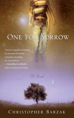One for Sorrow.  My first novel.  Winner of the Crawford Award for Best First Book