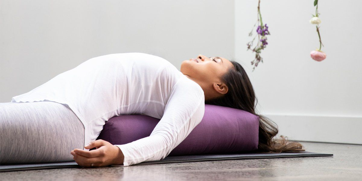 Top Five Ways To Use Your Rectangular Yoga Bolster
