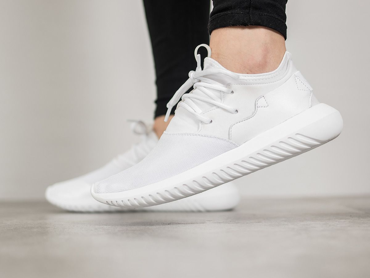 Buy Women Shoes / Adidas Originals Tubular White Trainers