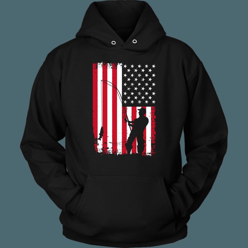 Download American Flag Men's Fishing Shirt | Mens fishing shirts ...