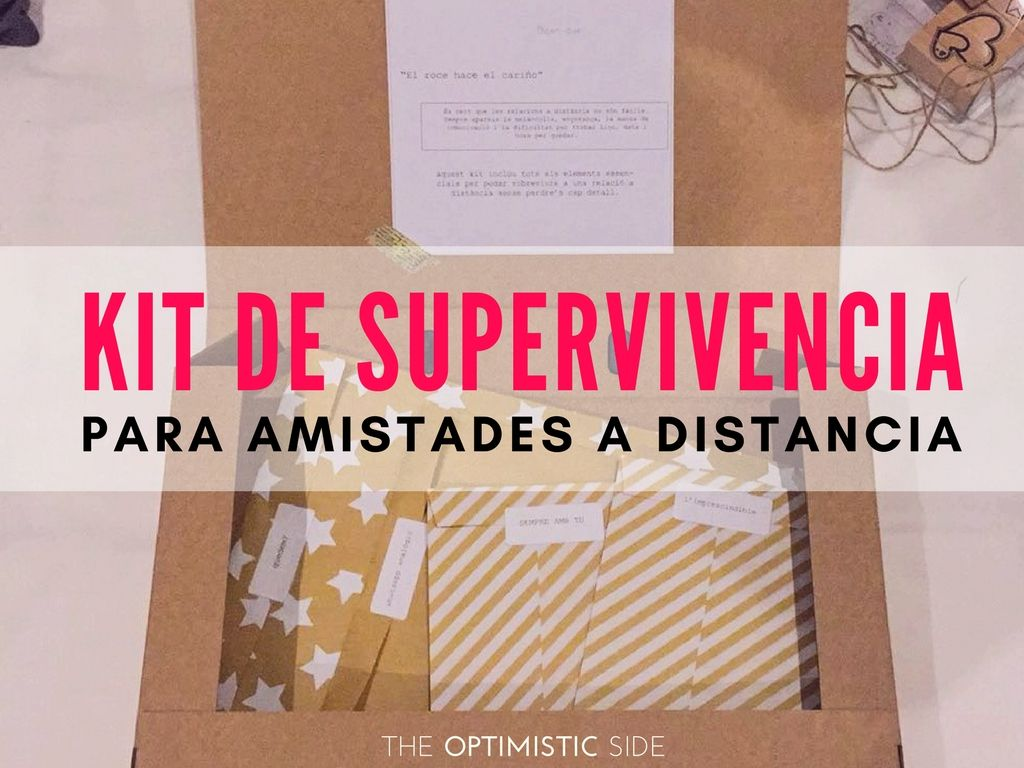 c220449f0056 Kit de supervivencia para amistades a distancia | regalos amiga ...