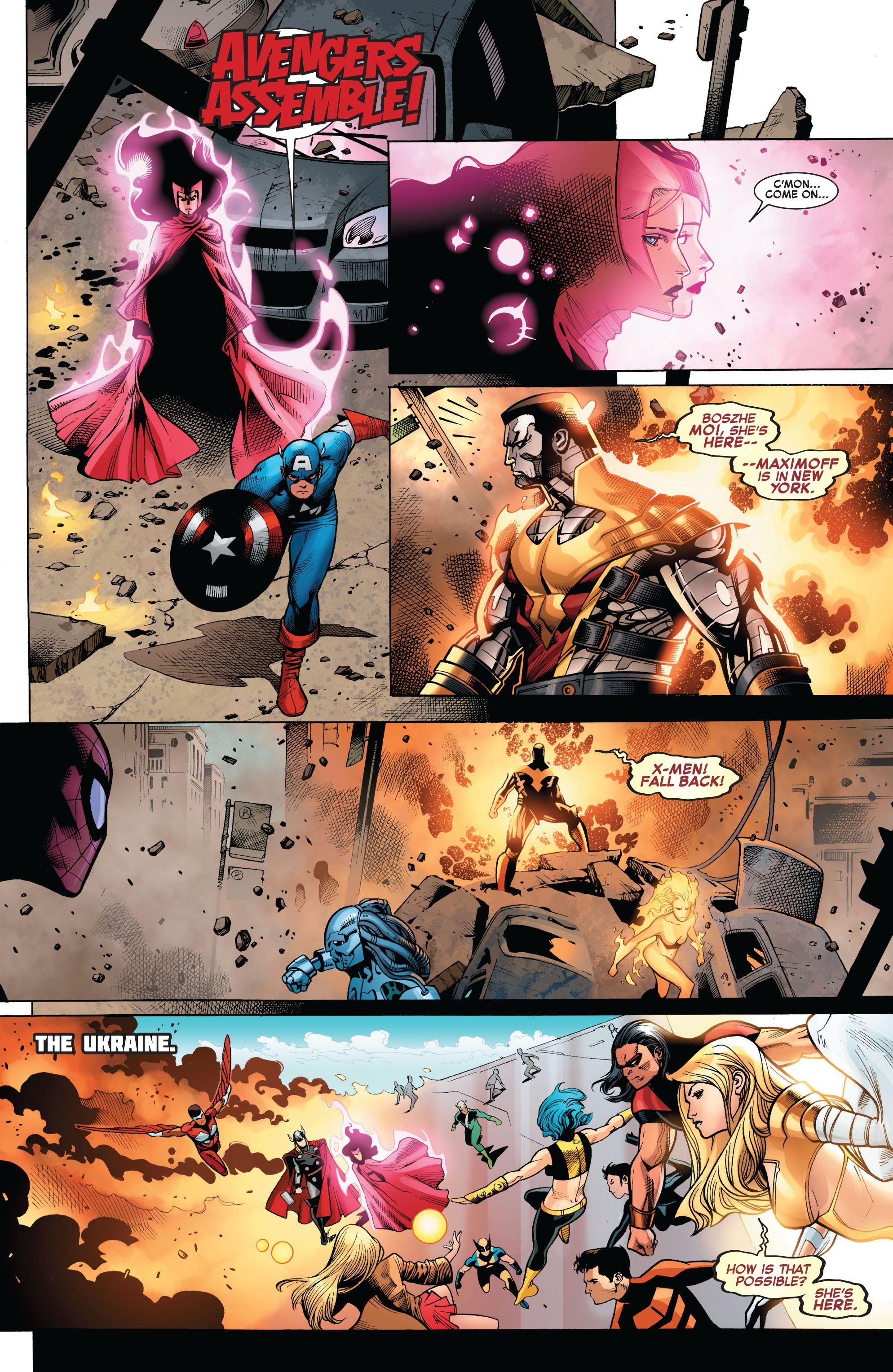 Avengers Vs X Men Issue 7 Read Avengers Vs X Men Issue 7 Comic Online In High Quality Comics Avengers X Men