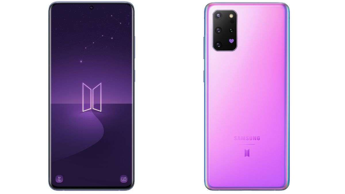 Samsung Galaxy S20 Bts Edition Launched Here S How It Looks Like Technology News India Tv In 2020 Samsung Samsung Galaxy Galaxy