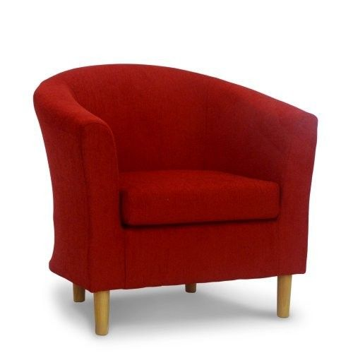 chelford red fabric tub chair flat furnishing cafe chairs chair rh pinterest com