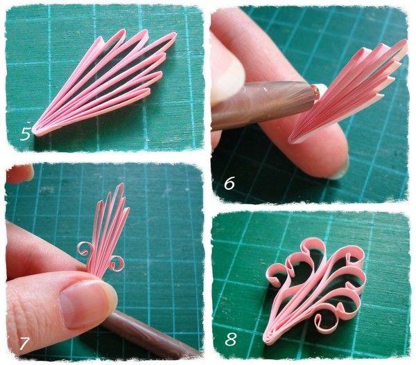 Royal Flower Tutorial1 Jpg 600 527 Quilling Techniques Quilling Paper Quilling Tutorial