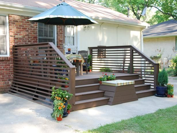 Traditional And Comfortable Decks For Everyday Use Patio