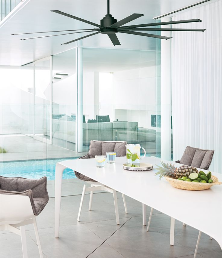 the beacon lighting airfusion resort 203cm dc fan only in matte rh in pinterest com