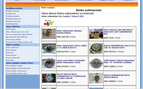 BeListings is a free eBay software open source code ASP and