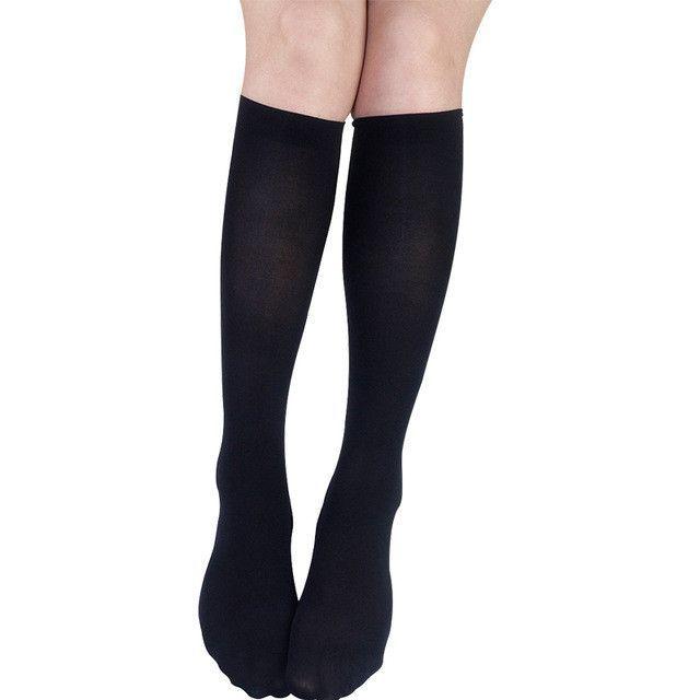e7d4bafb0 YONGCHUN sock Tube stockings female brand wire half socks spring autumn knee -high socks velvet