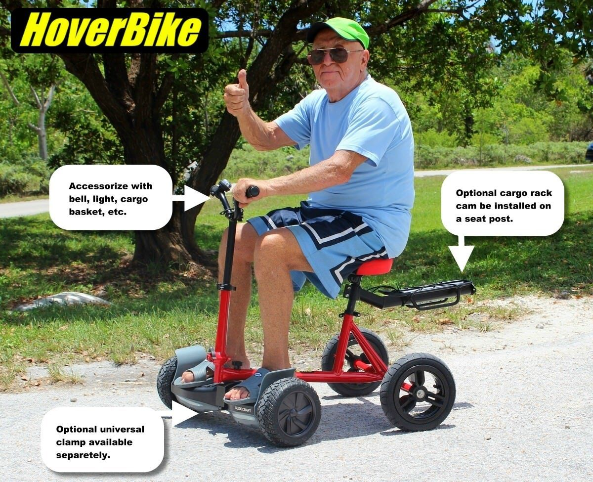 Hoverbike Sitting Attachment For Hoverboard Hoverboard Bike