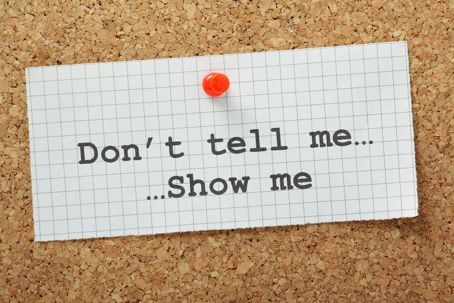 Showing Versus Telling: Unnecessary Description