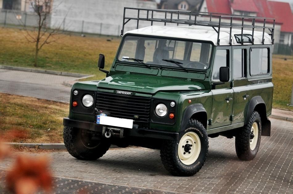 Land Rover Defender 110 2 5 Td5 Salon Kratka Vat23 Land Rover