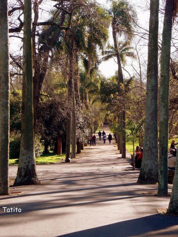 Prado de Montevideo. Uruguay.