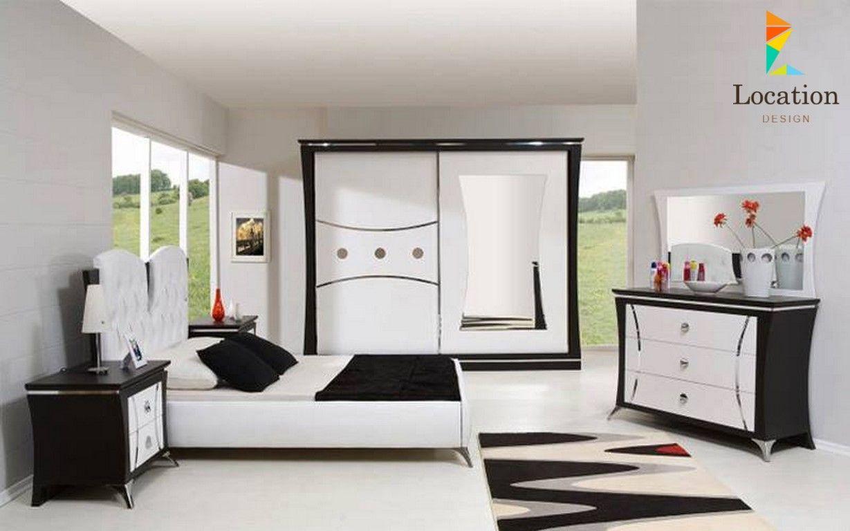 اجمل ألوان غرف نوم 2017 2018 للعرسان لوكشين ديزين نت Modern Bedroom White Bedroom Set Furniture Contemporary Bedroom Design