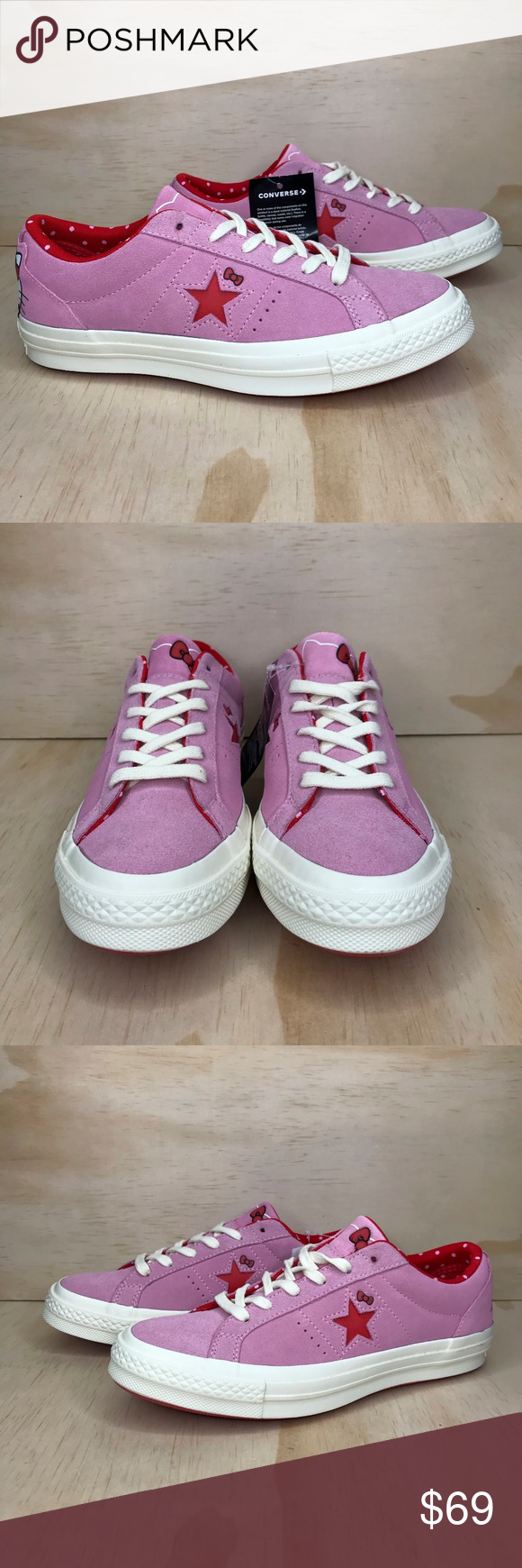 NIB Converse Hello Kitty One Star Limited Edition Brand new