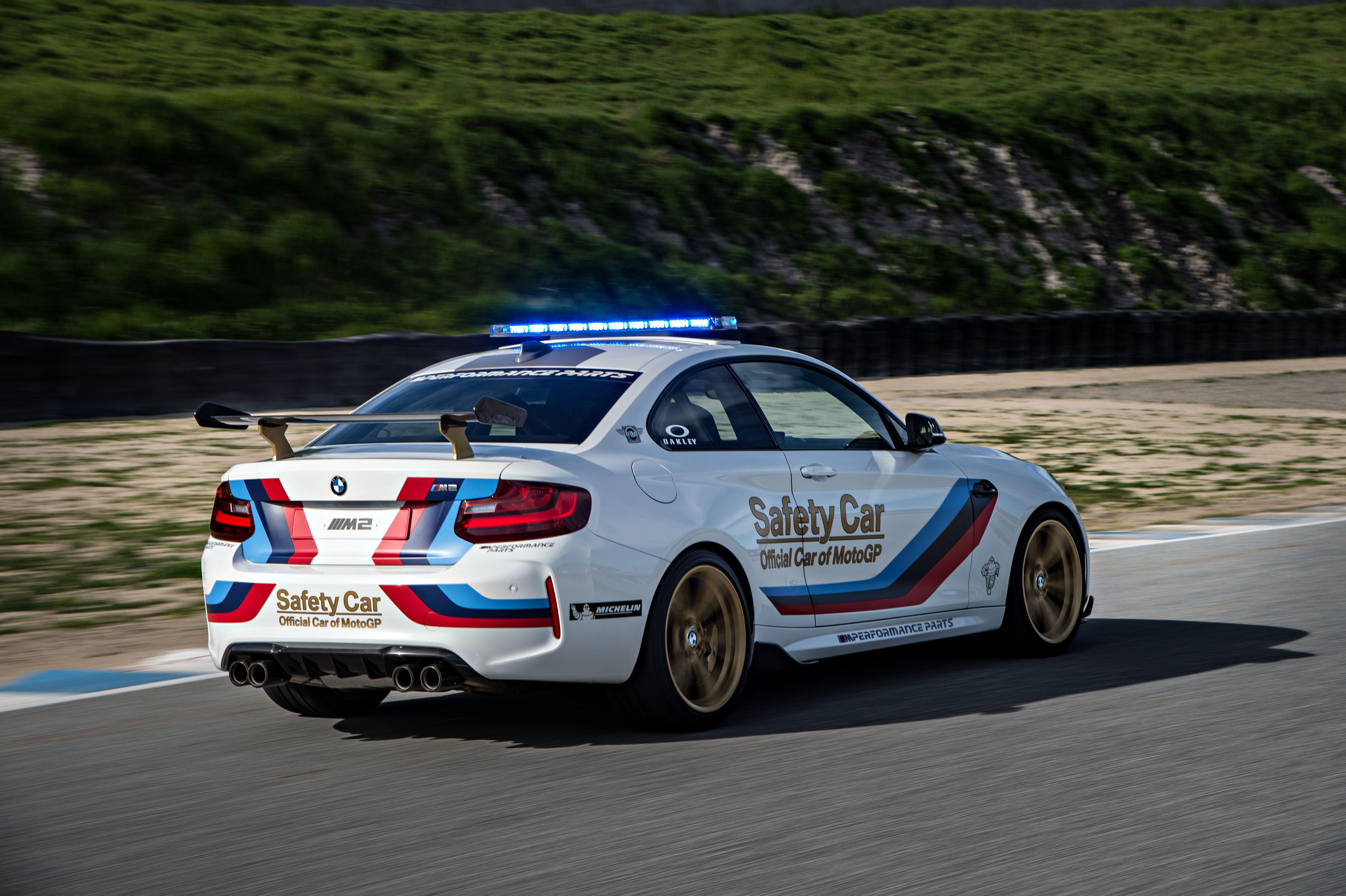 BMW F87 M2 Coupe MotoGP safety Car Security Race
