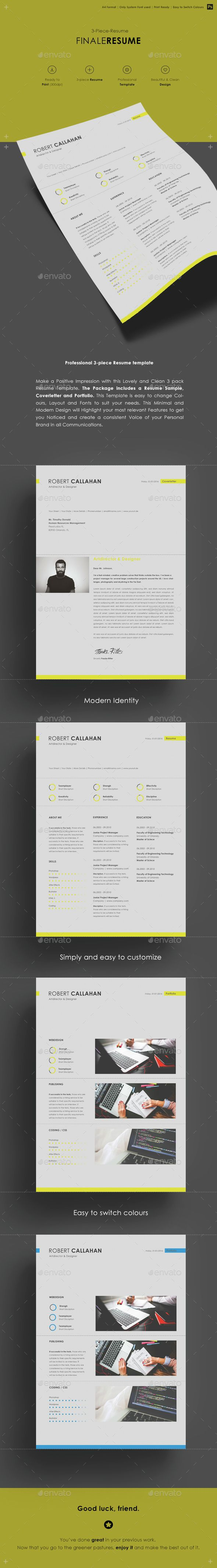graphic design resume template%0A Resume