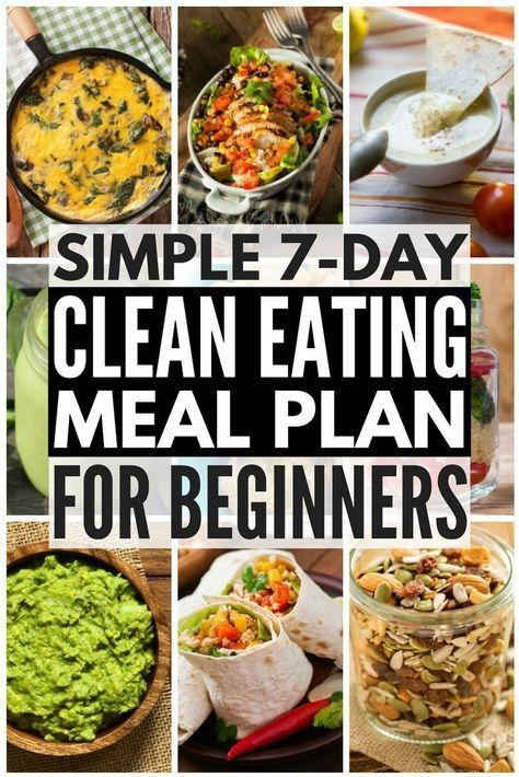 Meal Planning for Clean Eating 7Day Detox Challenge Meal Planning for Clean Eating 7Day Detox Challenge