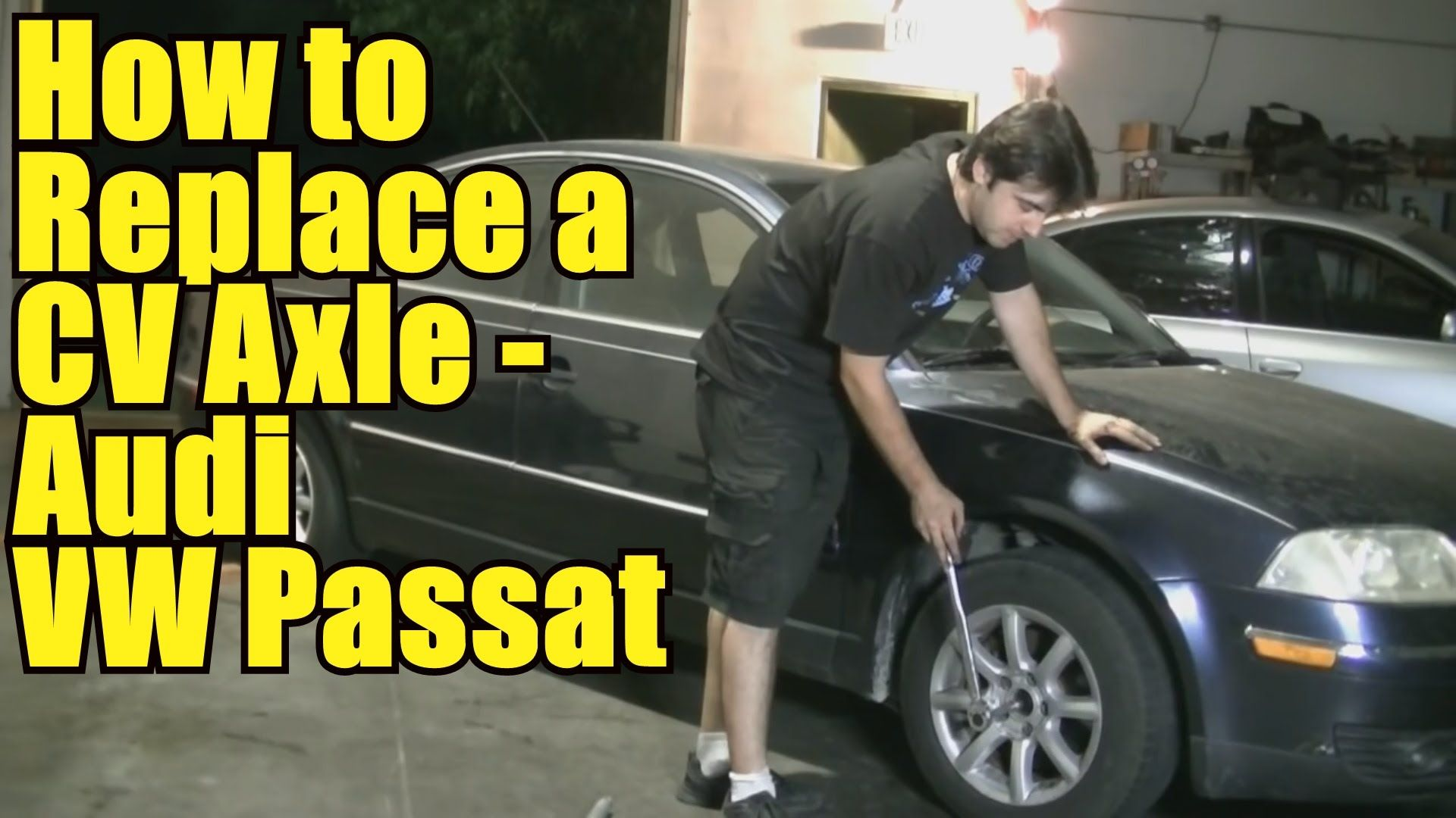 How to Replace a CV Axle on a VW Passat Audi A4 Short
