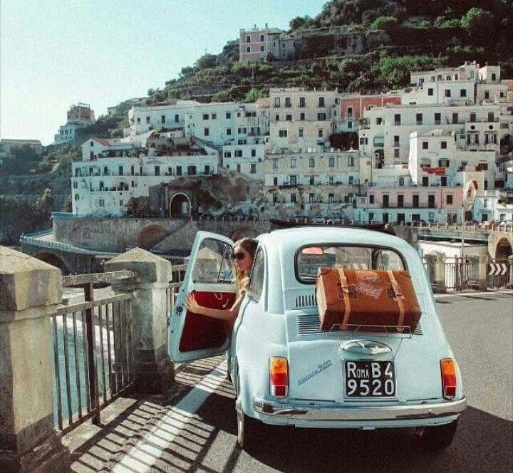 Hire A Car On The Amalfi Coast...