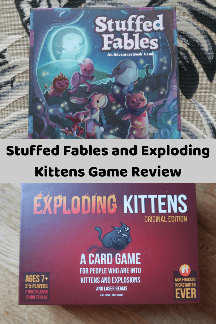 Blogger Board Game Club Review Exploding Kittens And Stuffed