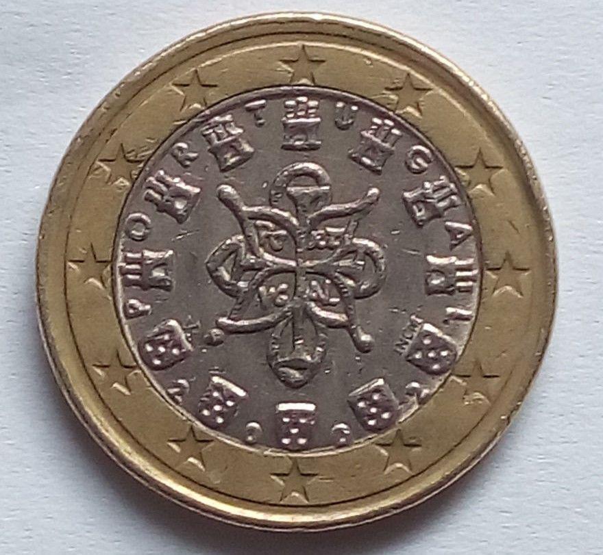 Fehlpragung 1 Euro Portugal Kleines Spiegelei Verpragung Pille
