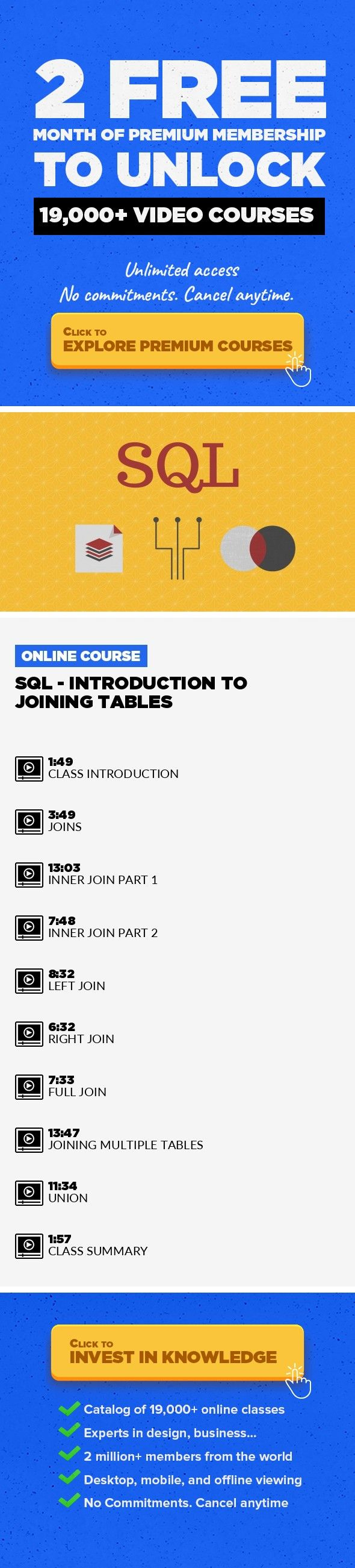 Sql Introduction To Joining Tables Technology Mysql Big Data