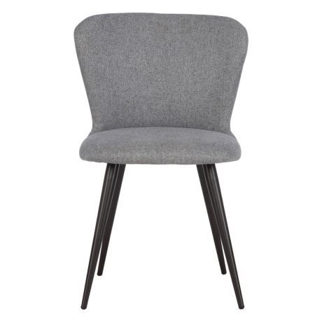 PHOEBE Dining Chair, Dark Grey & Grey