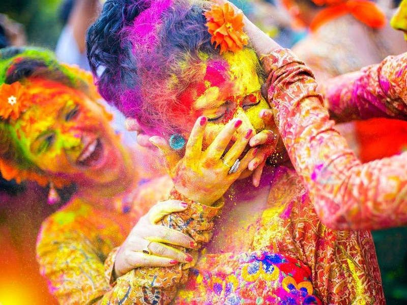 Pin by Indiator on Holî – होली | Holi pictures, Holi festival of colours, Holi colors