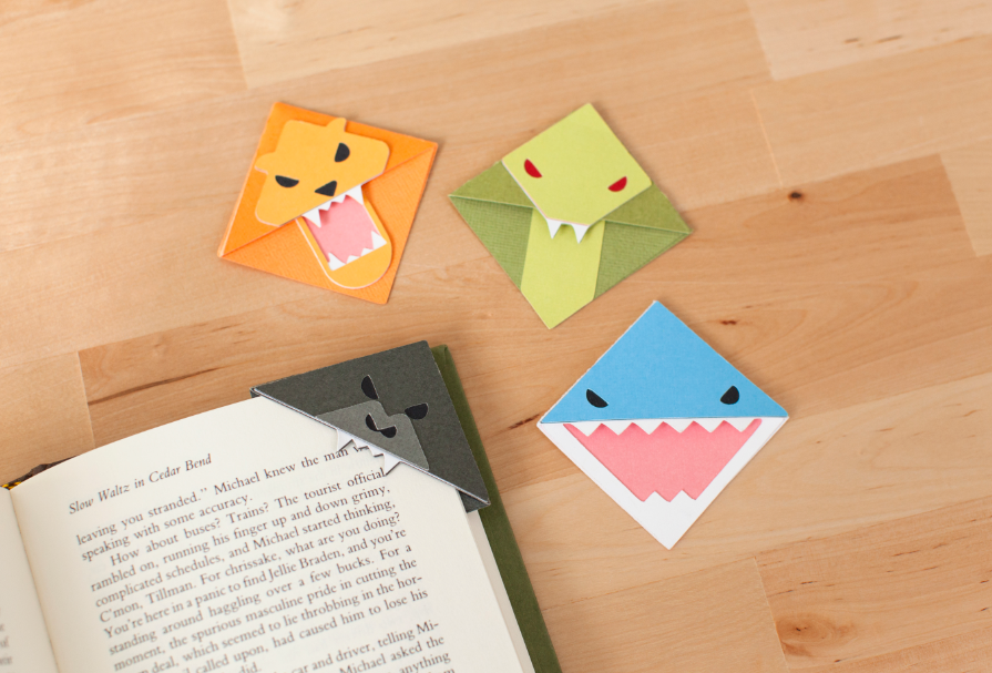 Animal Bookmark Corners Make It Now in