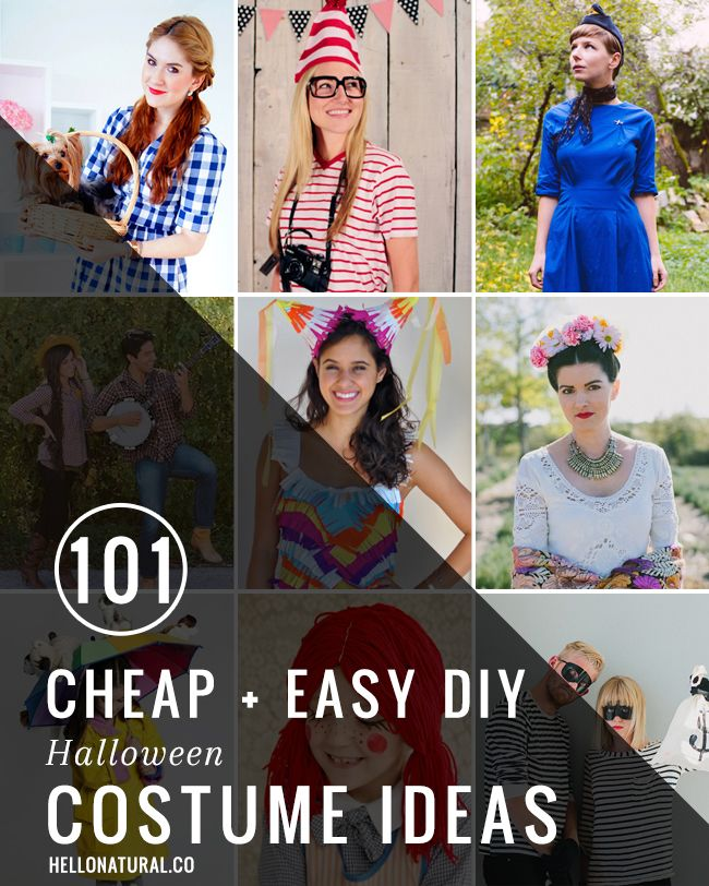 easy clever diy halloween costumes