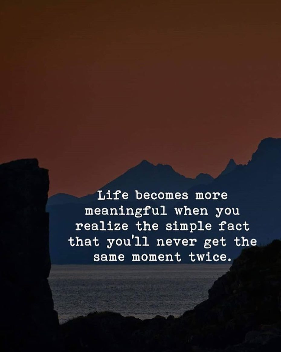 Life more meaningful when you realize the simple