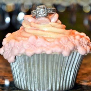 Allyson's Bridal Shower Cupcake