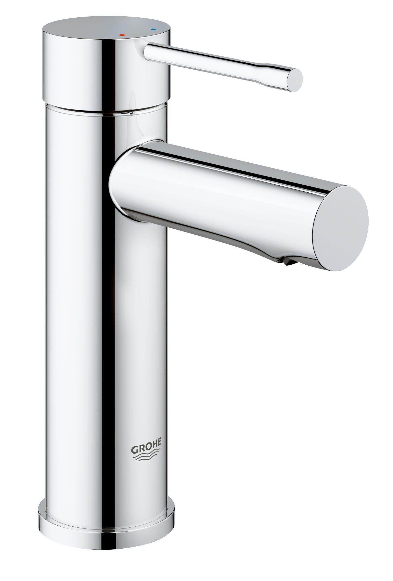 Grohe Essence Waschtischarmatur Glatter Korper Standard Auslauf 34294001 Amazon De Baumarkt Badezimmerarmatur Ablaufgarnitur Waschtischarmatur