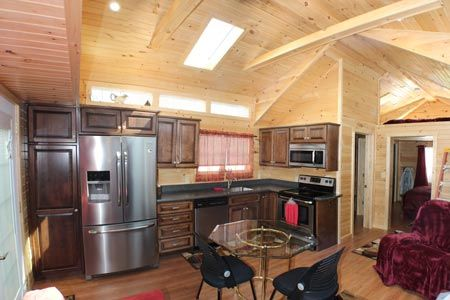 17 Best Images About Tiny Living On Pinterest | Tiny Homes On Wheels, Wood  Storage And Cabin