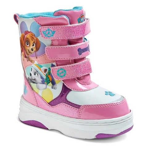 Toddler Girls' Paw Patrol Winter Boots - Pink | Paw Patrol ...