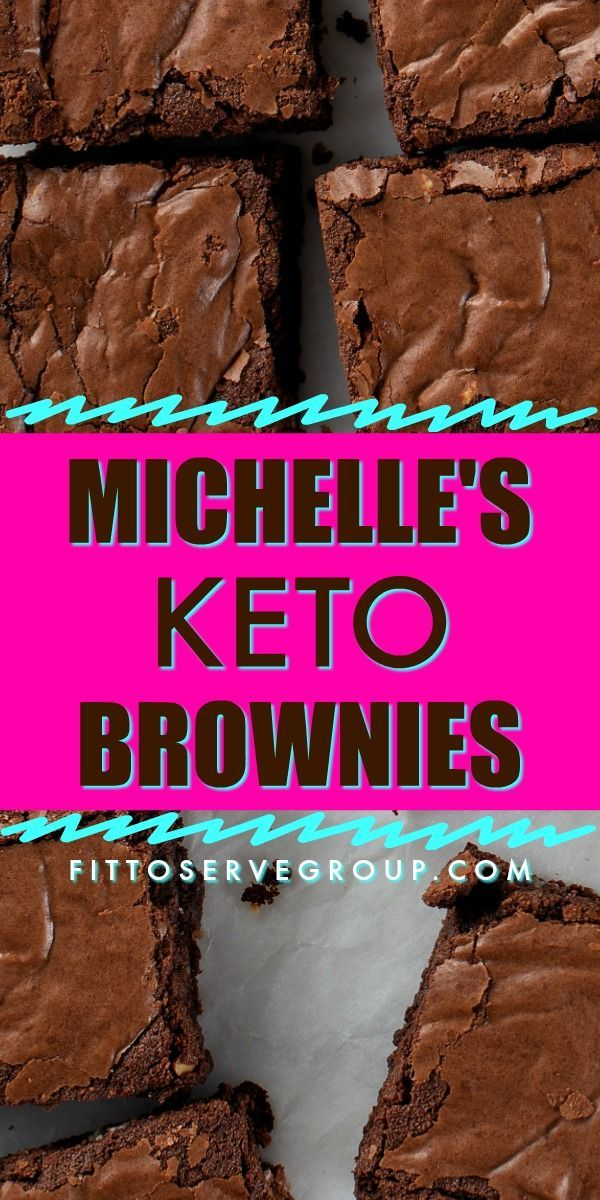 Michelle's Keto Brownies