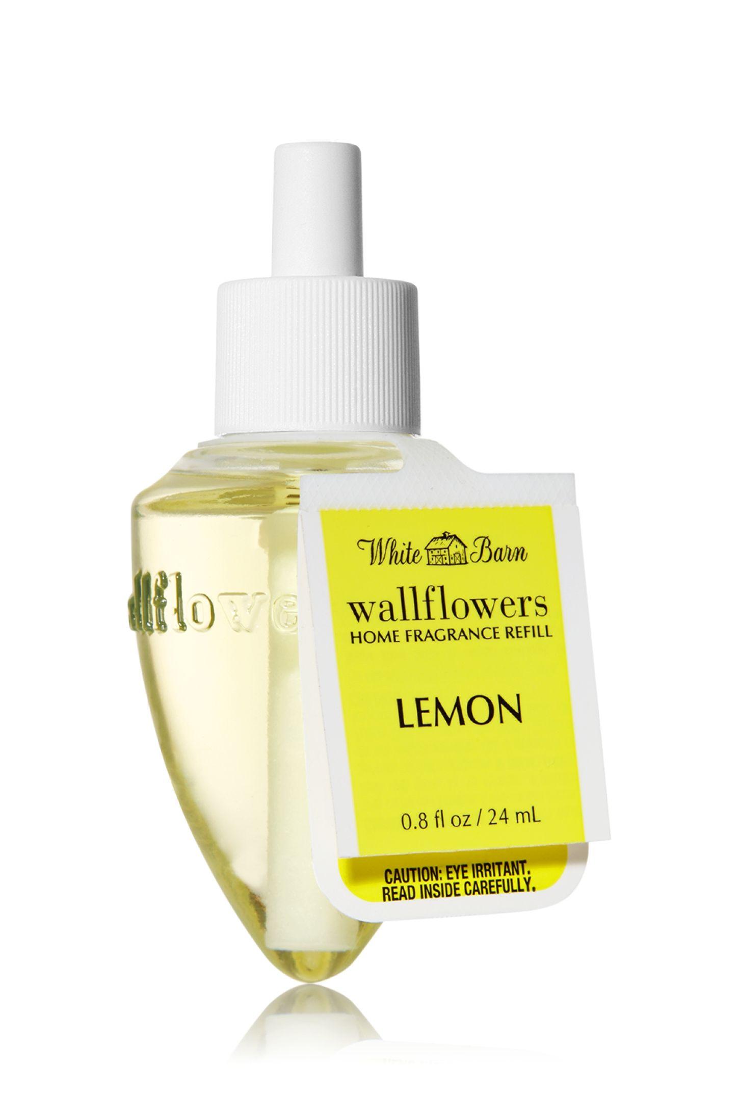 Lemon Wallflowers® Fragrance Bulb - White Barn - Bath & Body Works
