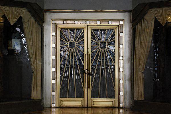 The James Oviatt Building The Bespoke Brilliance And Pretension Behind An Art Deco Masterpiece Lost Landm Hotel Doors Design Art Deco Bar Art Deco Furniture