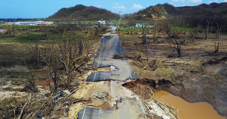 Photo Of The Week Drone Captures Hurricane Maria S Devastation In Puerto Rico Puerto Rico Puerto Photos Of The Week
