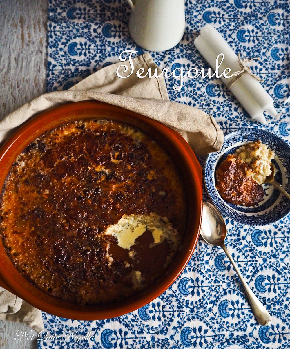 Teurgoule - A Heavenly Normandy Rice Pudding