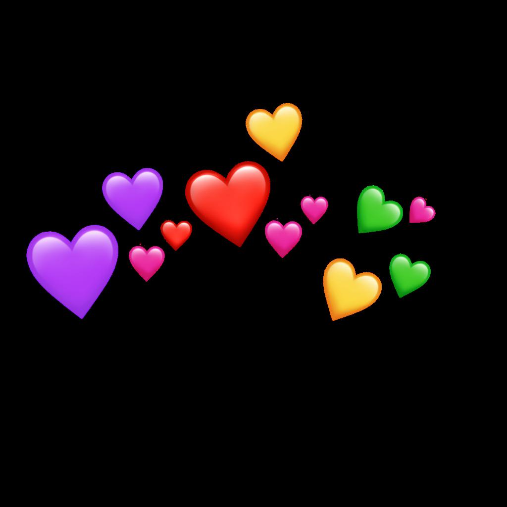 Heart Tumblr Rainbow Sticker Art Cute Emoji Wallpaper Emoji Art