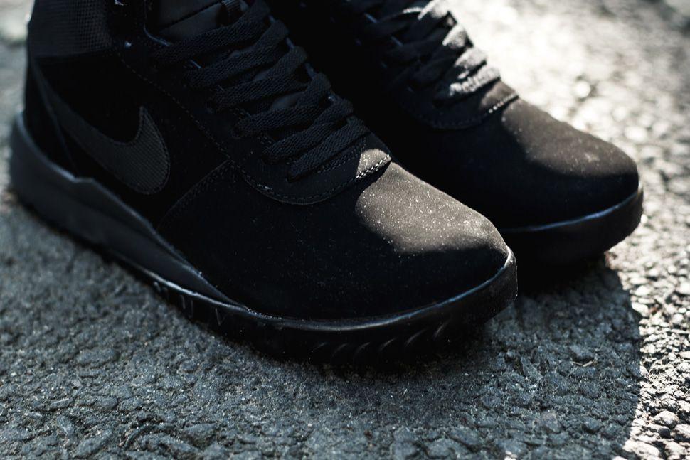 factory authentic 182cc 93c7d nike acg hoodland mens  nike hoodland suede black anthracite eu kicks  sneaker magazine