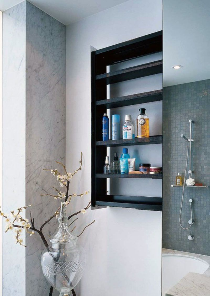 Depiction of Best Bathroom Wall Shelving Idea to Adorn Your Room ...