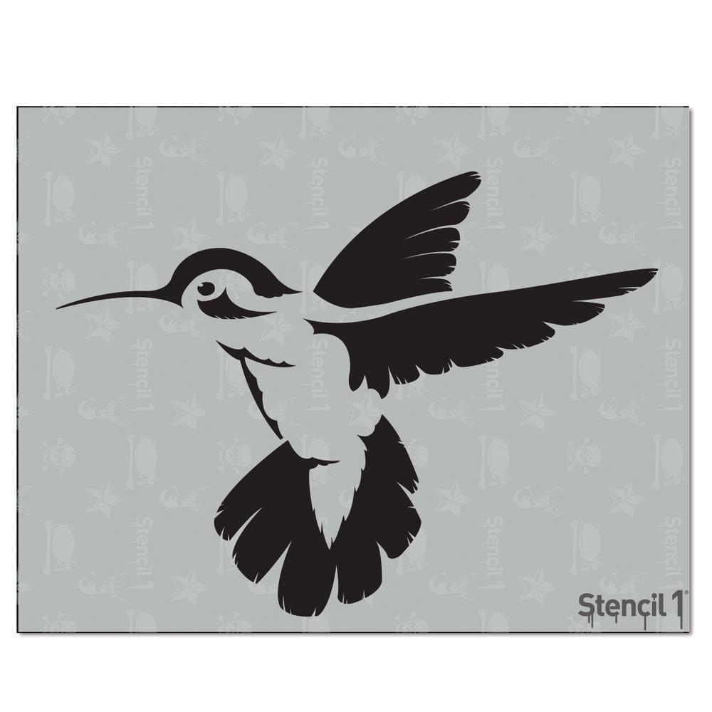Stencil1 Hummingbird Stencil | Pinterest | Hummingbird, Stenciling ...