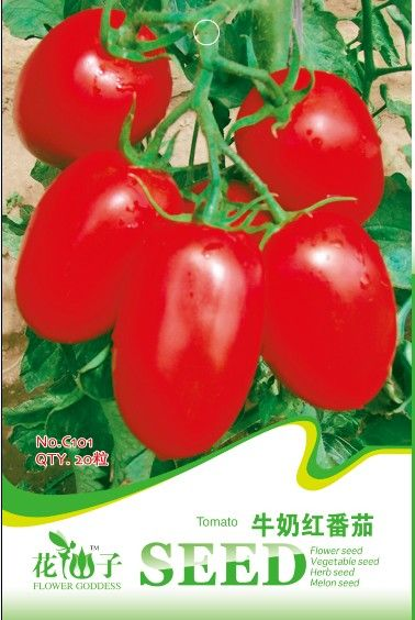 Vegetable Seeds Balcony Type Of Milk Red Tomato 20pcs Bag C101 Free Shipping Affiliate