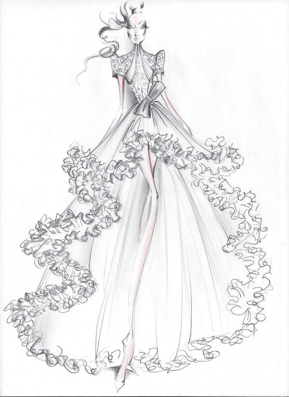 Wedding Design Dress Design Sketches Illustration Fashion Design Fashion Illustration Sketches Dresses