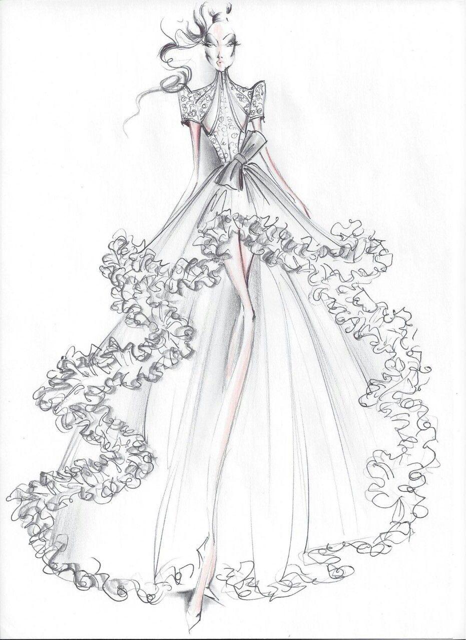 Wedding Design Dress Design Sketches Illustration Fashion Design Fashion Illustration Sketches Dresses