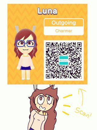 here is my qr code for miitomo 3 cute otherpw miitomo art