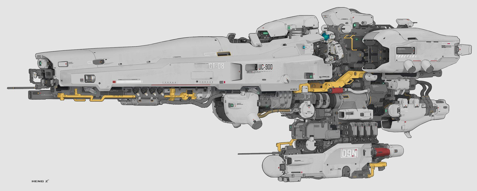 Heng Z On In 2020 Spaceship Art Concept Ships Spaceship Design